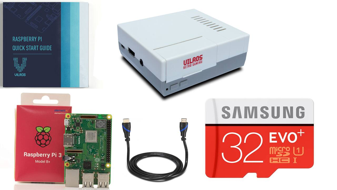 Complete Starter Kit with Keyboard and Mouse Vilros Raspberry Pi 3 Model B