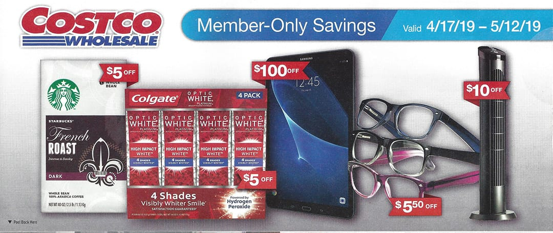 53f346e9762 Costco April 2019 Coupon Book and Best Deals of the Month