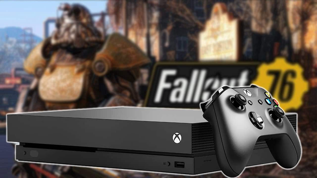 Save $150 on an Xbox One X Fallout 76 Bundle from Newegg