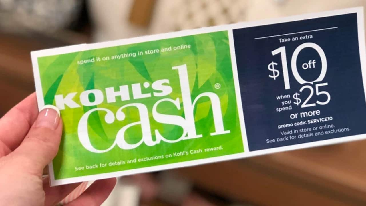 kohls cash coupon code