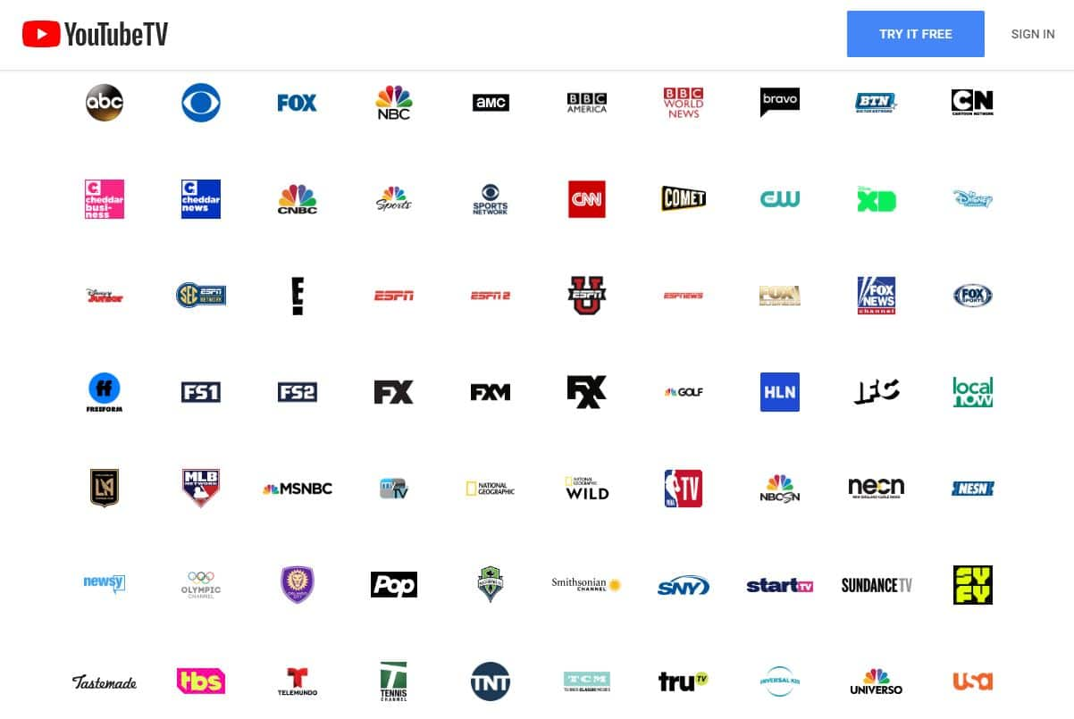 Youtube Tv Review Unlimited Dvr And Large Channel List