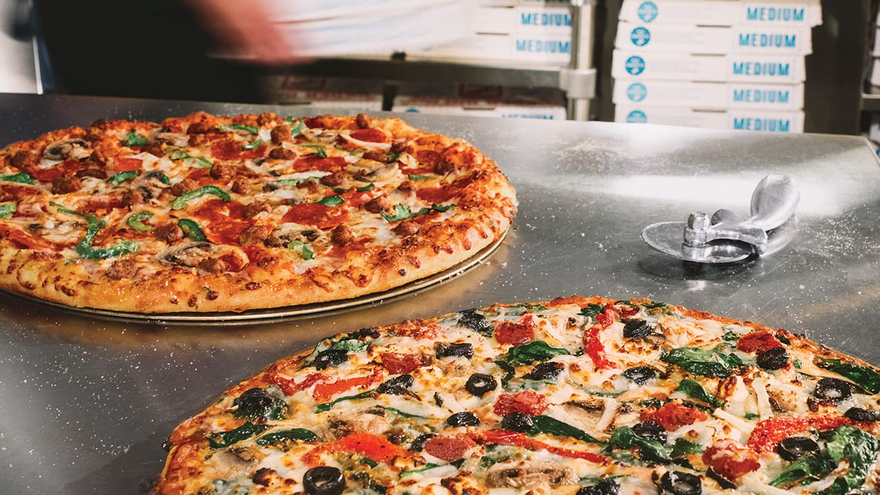 Domino S Online Pizza Orders Are Discounted 50 Off Through 3 24