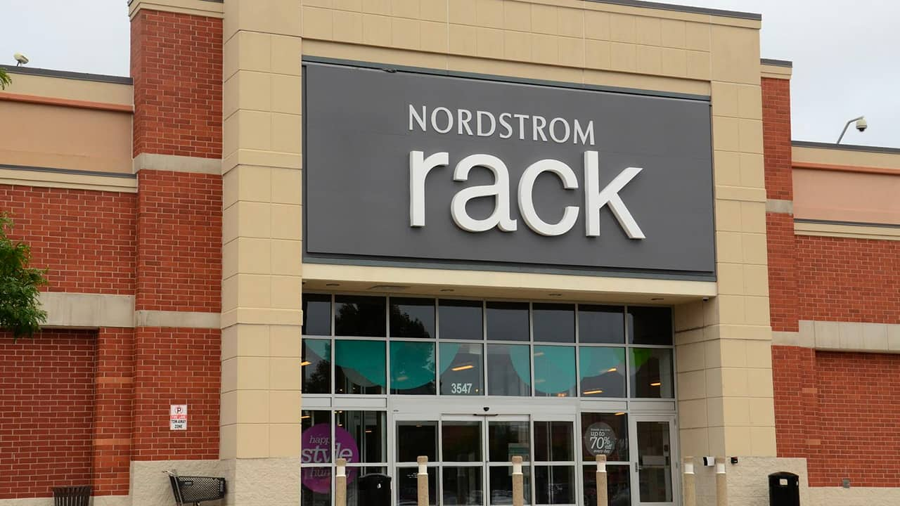 Nordstrom Rack store front ClearThe Rack sale