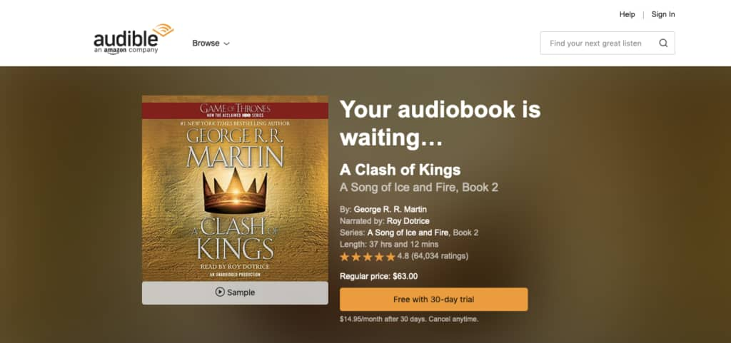 Is a Free Audible Trial Worth It?