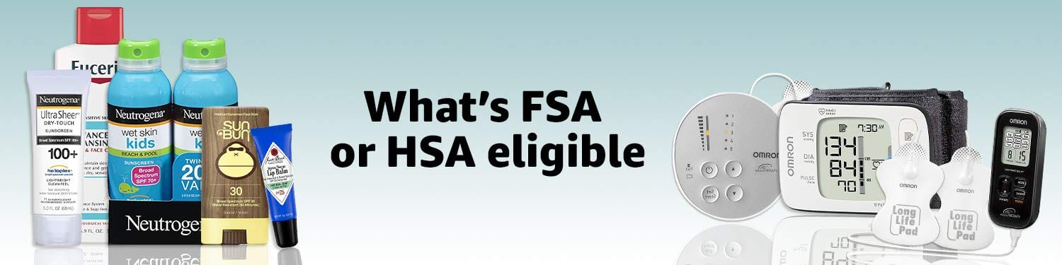 Amazon FSA Eligible Products
