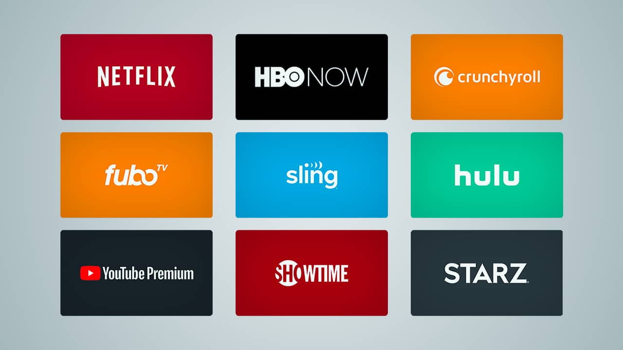 Try the 22 Most Popular Video Streaming Services for Free Today