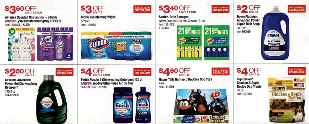 a813239daef Costco August 2019 Coupon Book and Best Deals of the Month