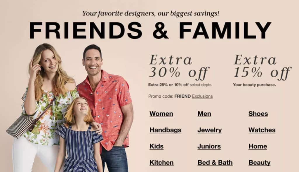 tommy hilfiger family and friends coupons