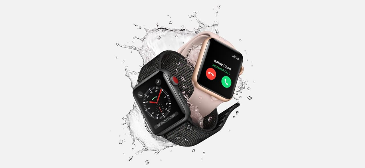 Save on Series 3 Apple Watches