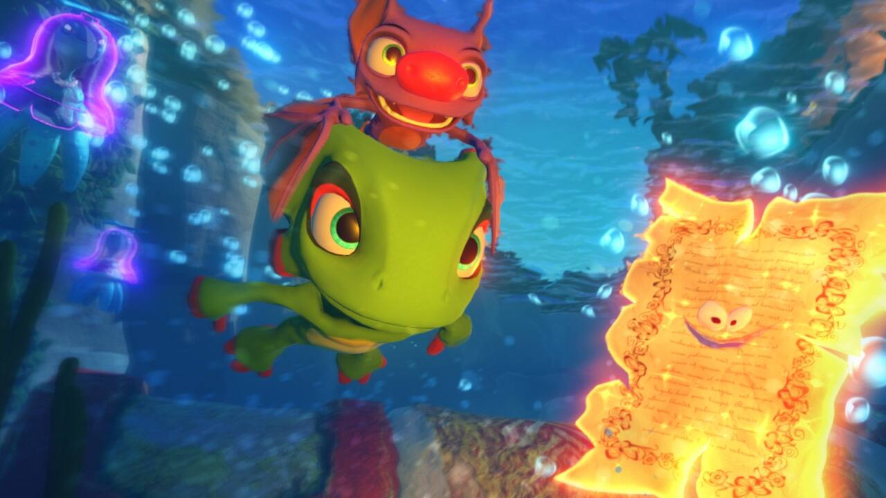 Yooka Laylee is definitely worth playing for free!