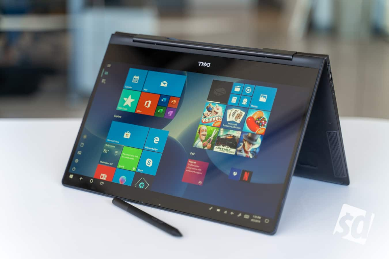 Hybrid Laptop Innovation Reaches New Heights with the Dell Inspiron 13 7000  Black Edition