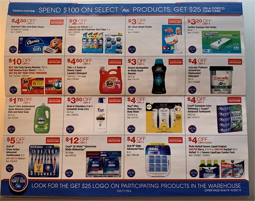 Costco September 2019 Coupon Book and Best Deals of the Month