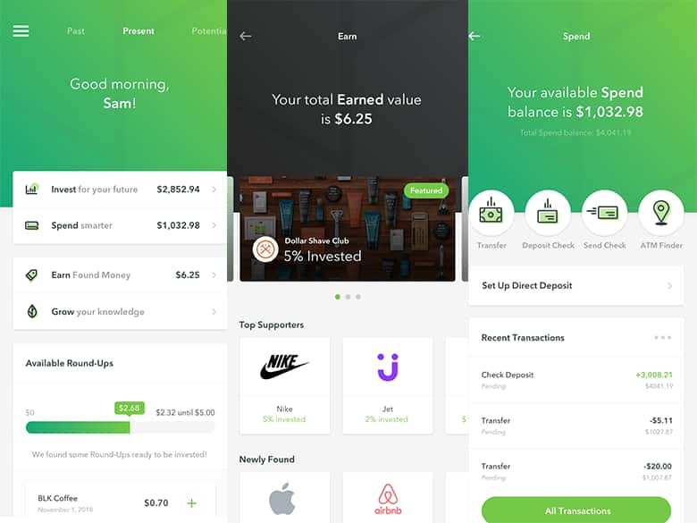 acorns app is among the best investing apps for people under 35