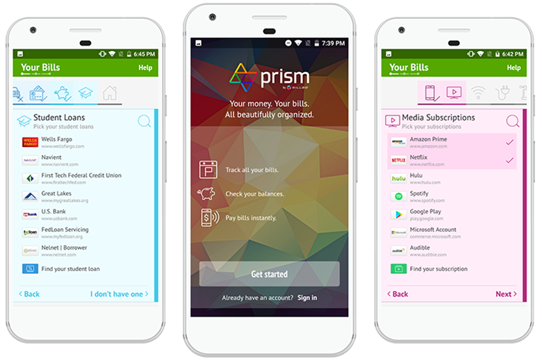prism is among the best apps for bill paying for people under 35