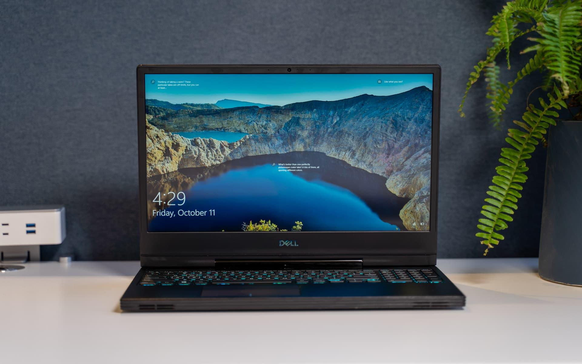 Dell G7 Gaming Laptop Review High Power Modest Design