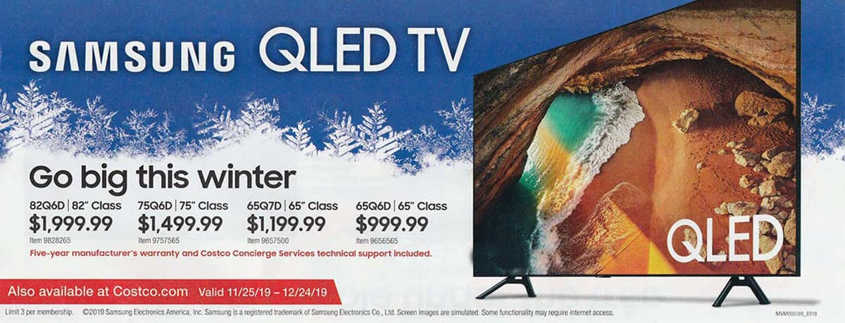 Costco December 2019 Coupon Book and Best Deals of the Month