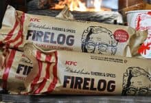 Photo of Walmart's New KFC-Scented Firelog is Comfort Food for Your Nose