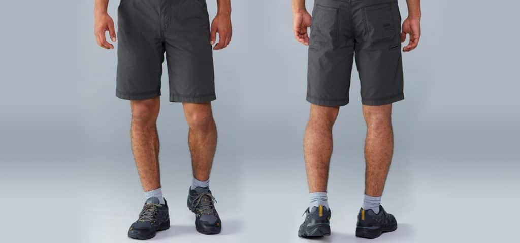 "KUHL's Free Radikl Shorts with a 10"" inseam"