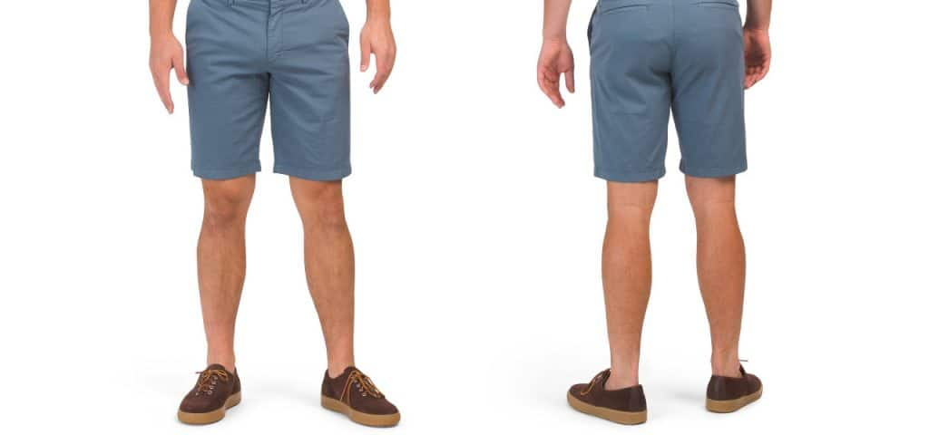 Blake Spatton Shorts Blue Grey