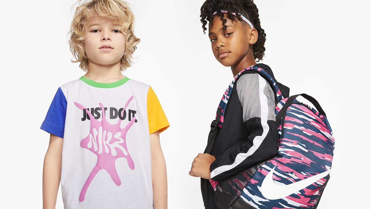 25% off any Nike shoes for kids, kids
