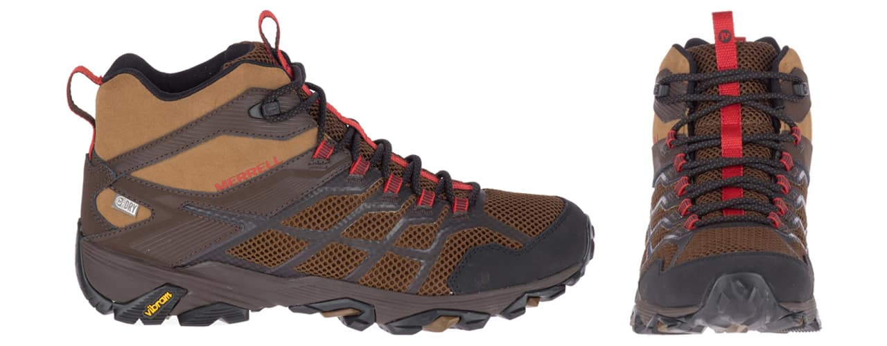Merrell Moab FTS Mid Waterproof Hiking Boots