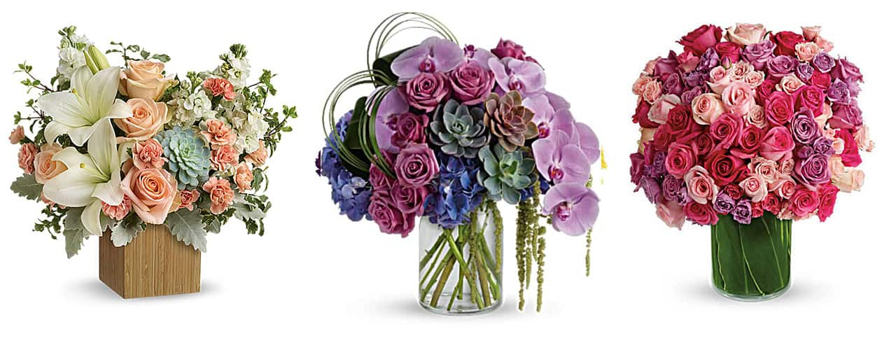 best-affordable-flower-delivery-deals-teleflora and zen arrangements