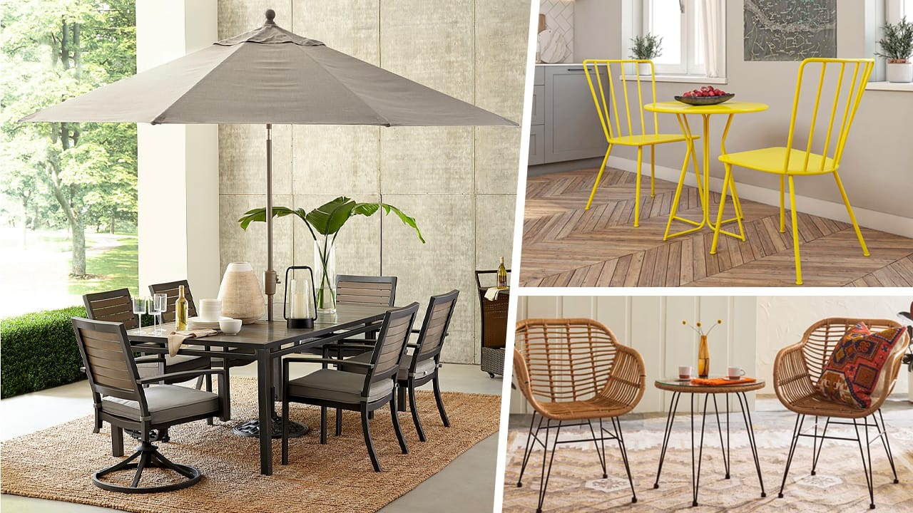 Affordable Patio Furniture To Upgrade Your Backyard