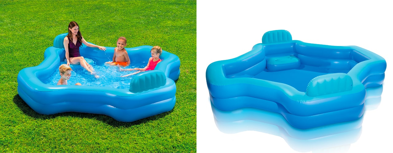 inbody 7 Intex Inflatable Family Lounge Pool