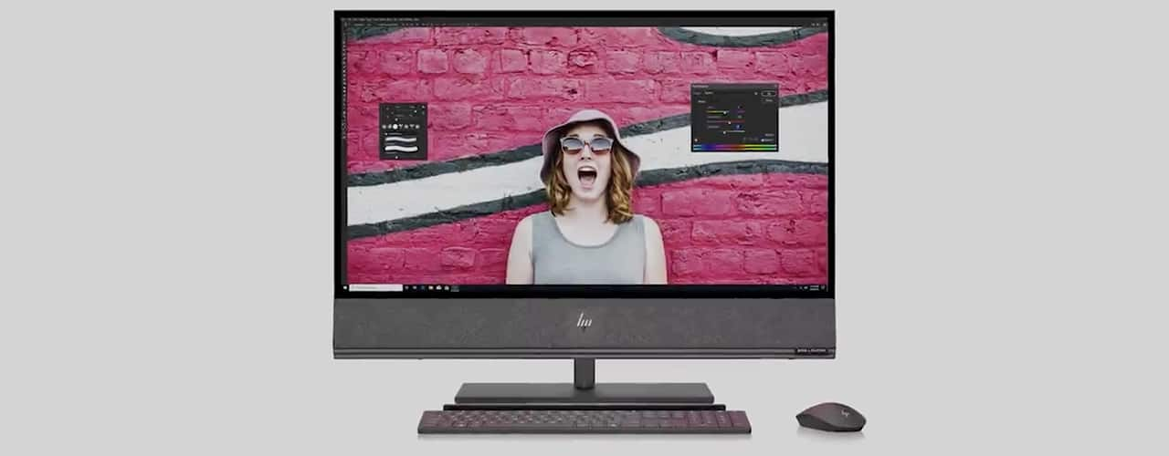 HP ENVY 32 All-in-One PC 1