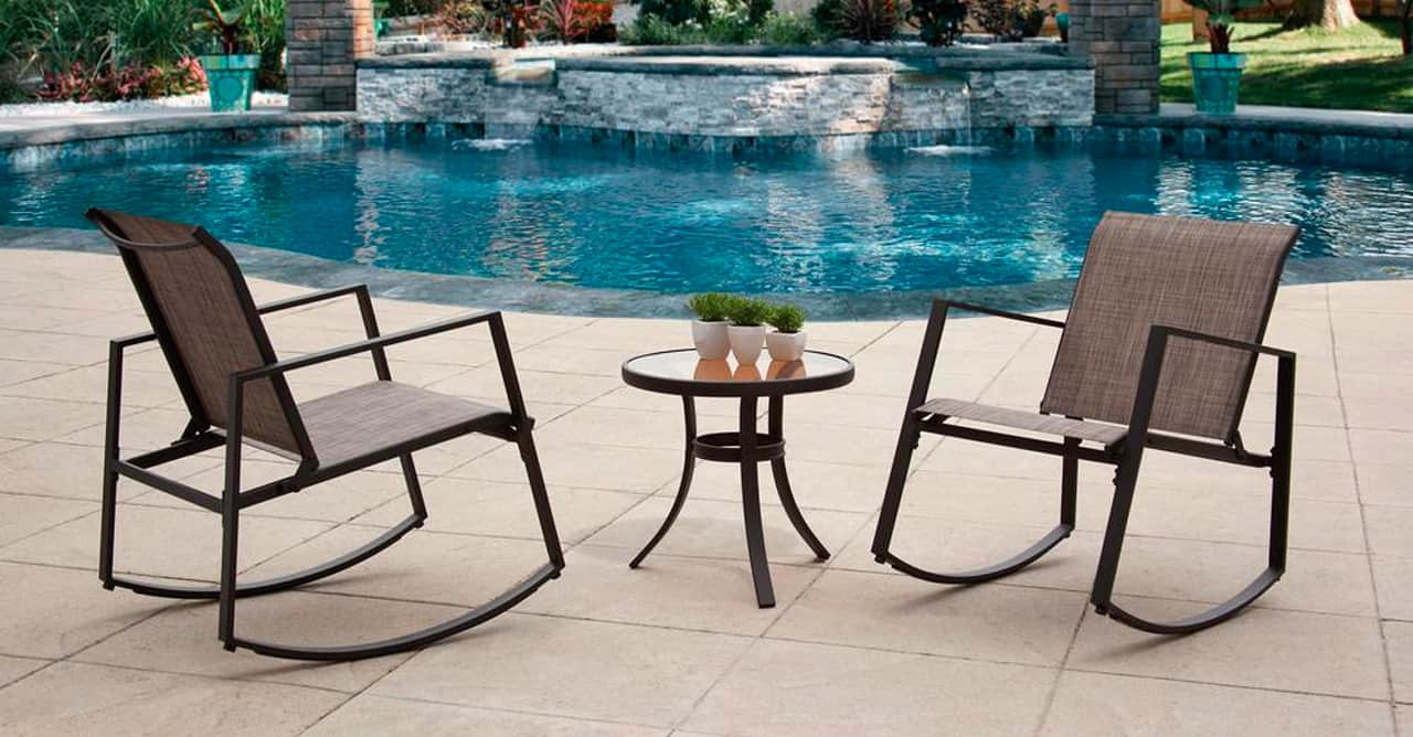 3 inbody Black 3-Piece Metal Aurora Sling Outdoor Seating Set_