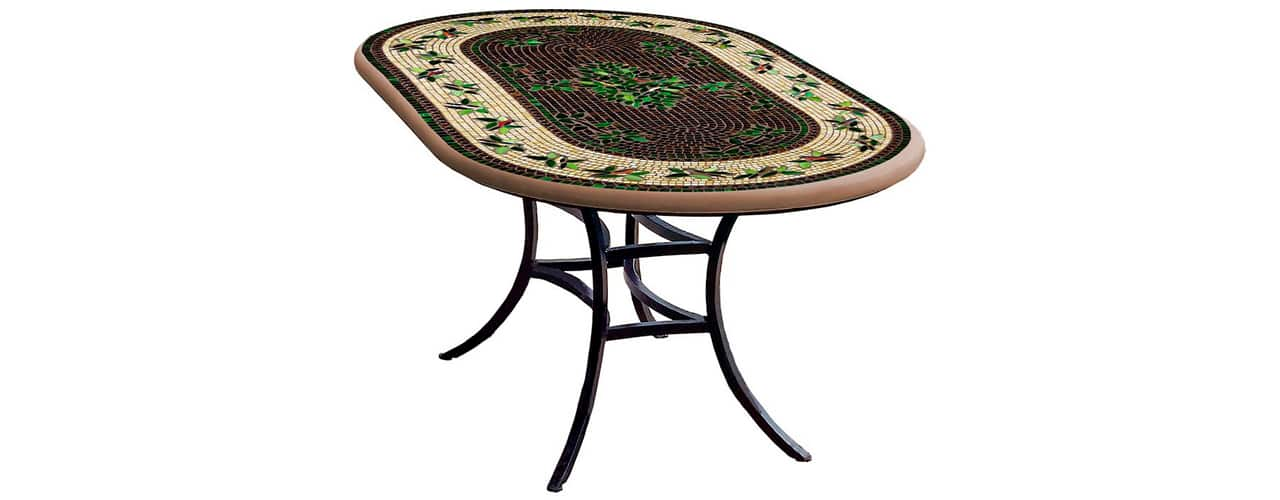 5 inbody Finch Oval Bistro Table