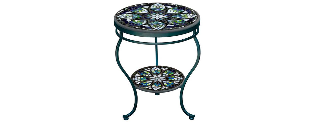 7 inbody Belcarra Double-tiered Side Table