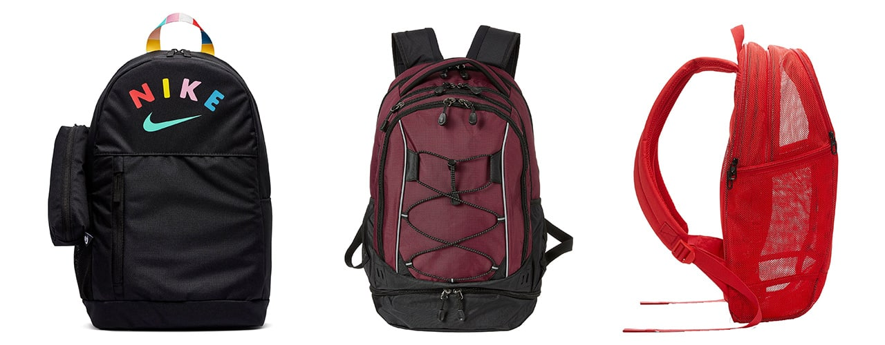 backpacks for teens nike and mesh styles