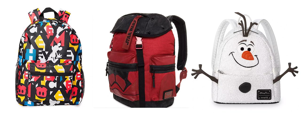 best disney backpacks for kids star wars mickey frozen