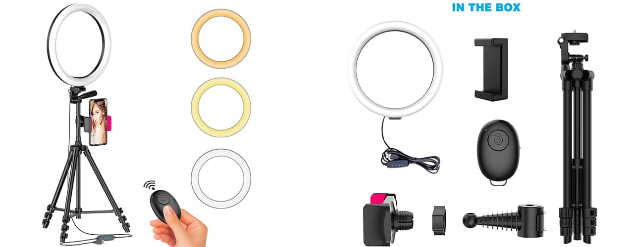 inbody ring light images box