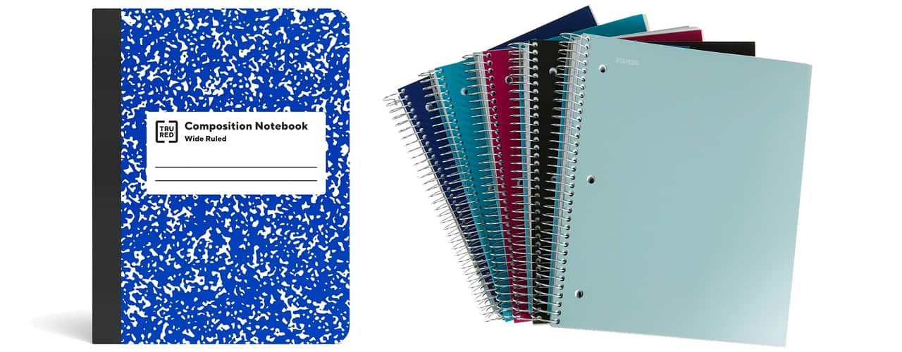 staples inbody Take Note of All the Cool Notebooks