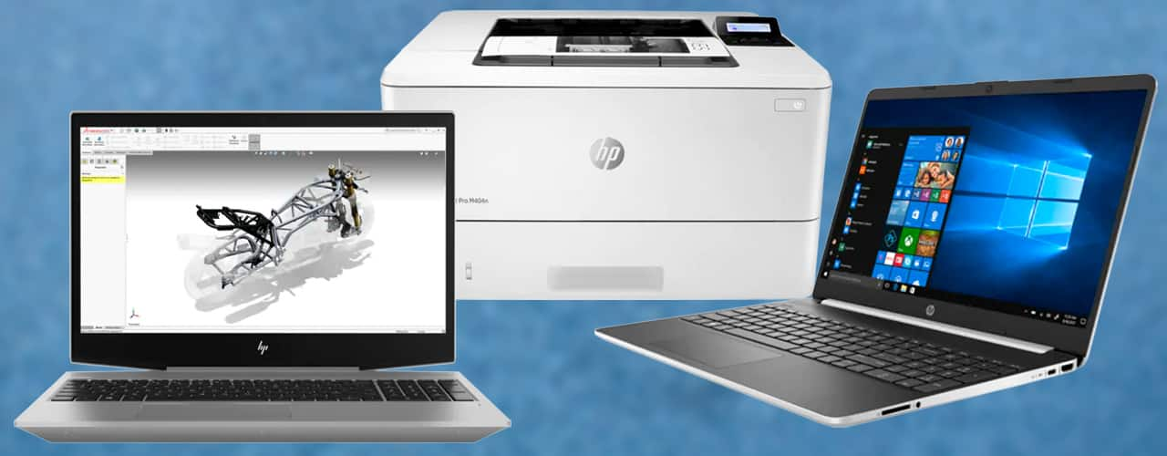 hp laptops and printers