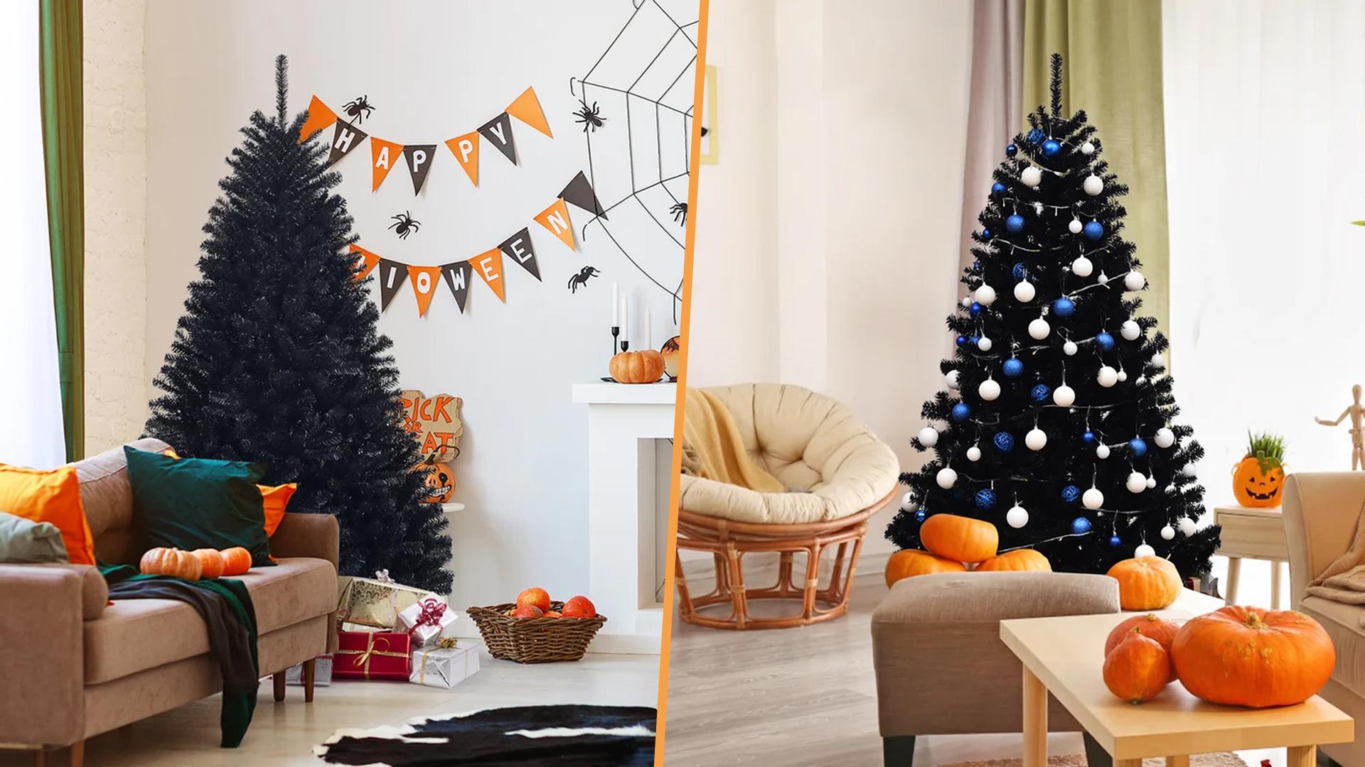 Black Christmas Trees On Sale