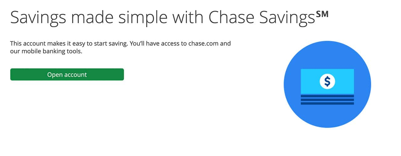 chase savings screenshot