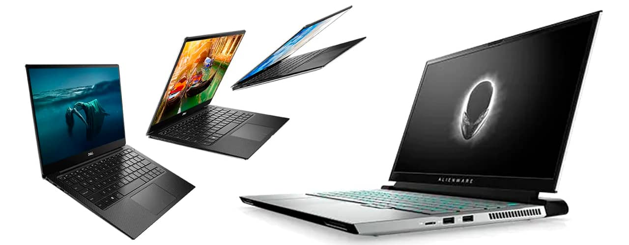 Dell XPS 13 Touch and Alienware m15 R3 Gaming Laptop