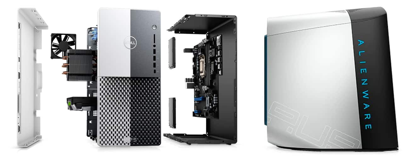 Dell XPS Desktop and ALIENWARE AURORA R11 GAMING DESKTOP_