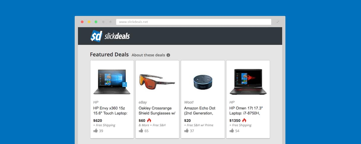 Slickdeals Featured Deals