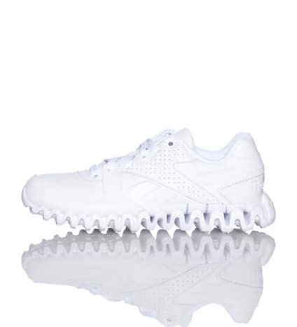 all white reebok zigs