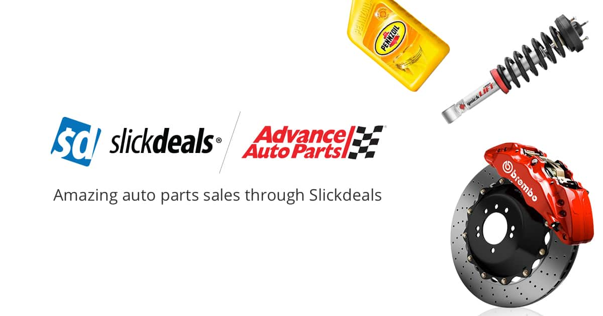 Save Big With Advance Auto Parts Coupons Slickdeals