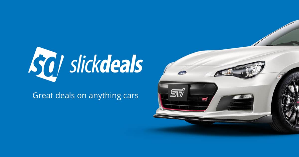 Auto Coupons, Promo Codes, Deals and Offers | Slickdeals