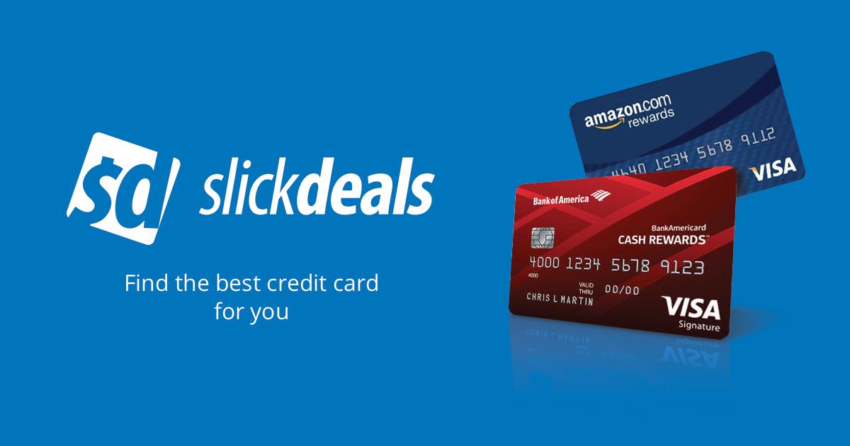 Credit Cards Deals, Coupons & Promo Codes | Slickdeals