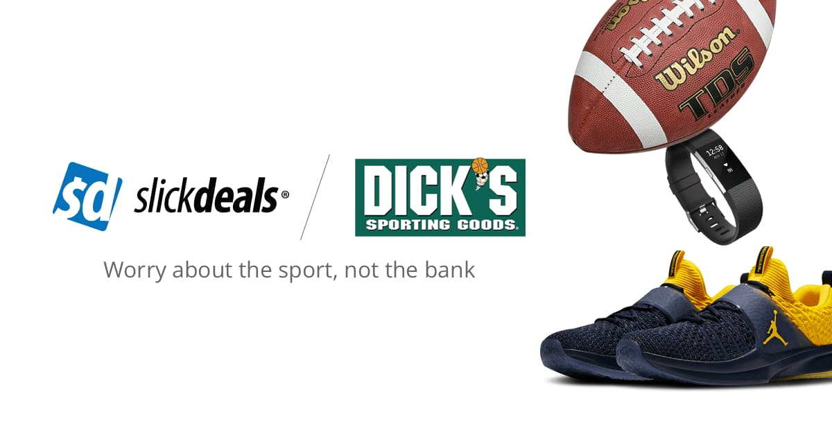 5aef30ecda Dicks Sporting Goods Coupons, Promo Codes | Slickdeals.net