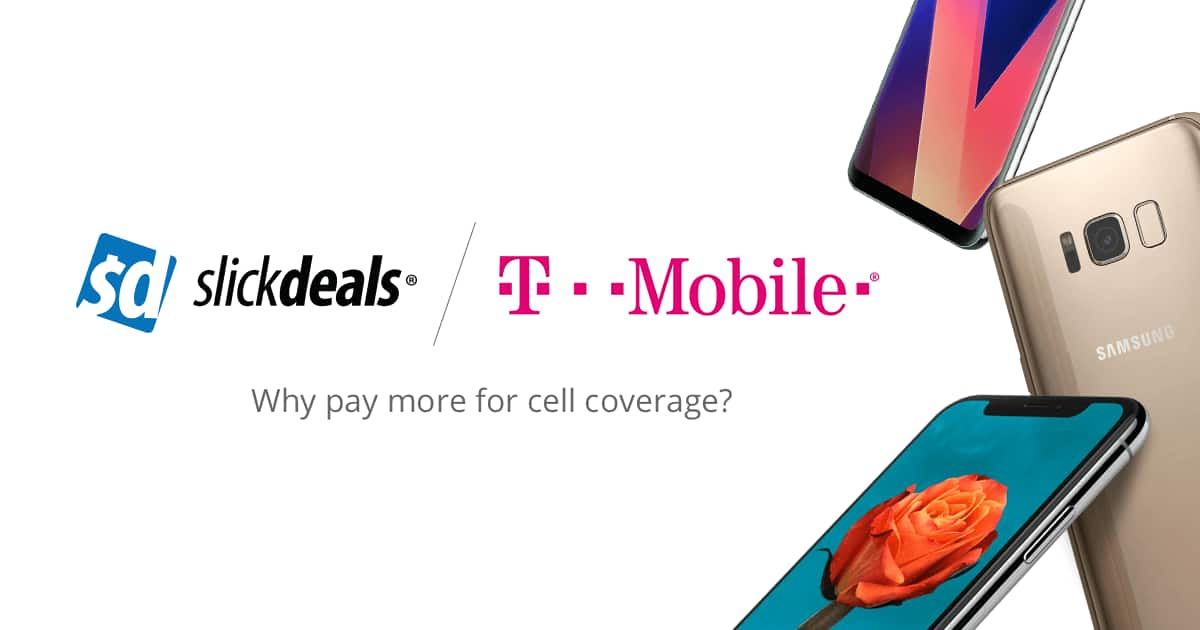 T-Mobile Deals, Coupons, Promo Codes | Slickdeals